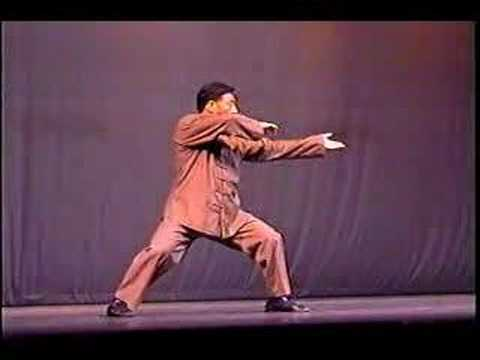 Chen Xiaowang Performs Tai Chi With Fajin
