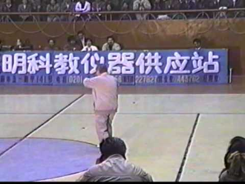 Ma Yueh Liang Perfroms Wu Style Tai Chi Fast Form