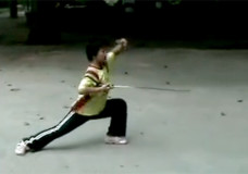 12-Year-Old Girl Performs Chen Tai Chi Sword