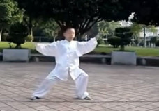 Young Boy Performs Chen Style Tai Chi Chuan