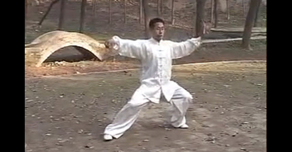 Chen Ziqiang performs the Xinjia Yilu Routine