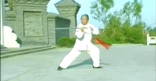 Fu Shengyuan Performs Yang Style Sword