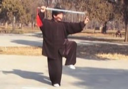 Chen Yu Performs Chen Tai Chi Sword