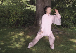 Helen Liang Performs The Tai Chi 24 Form