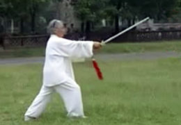 Tashi Peforms the Yang Tai Chi Sword